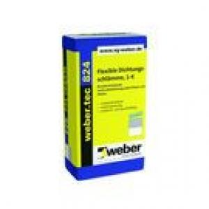 Weber weber.tec 824 (Superflex D1) - 1 komponensű szigetelőhabarcs, szálerősített