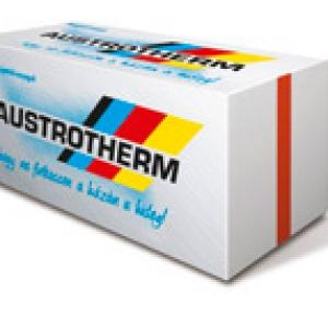 Austrotherm AT-H80 homlokzati hőszigetelő 30mm