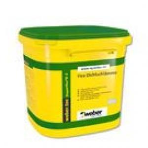 Weber weber.tec Superflex D2 (Superflex D2) - 2 komponensű, gyorskötő vízszigetelő habarcs - 24 kg