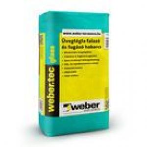 Weber weber.tec glass - üvegtégla falazó és fugázó habarcs, fehér
