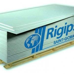 Rigips gipszkarton impregnált RBI 12,5mm