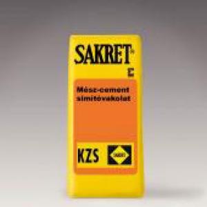 KZS Mész-cement simítóvakolat