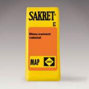 Sakret MAP-01 Mész-cement vakolat Üllői telepen raklap tételes vásárlás esetén!