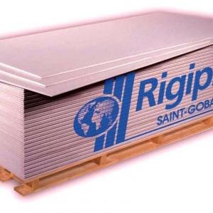 Rigips gipszkarton tűzgátló RF 12,5mm Üllői telepen raklap tételes vásárlás esetén!