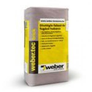 Weber weber.tec brick - dísztégla falazó és fugázó habarcs, fehér