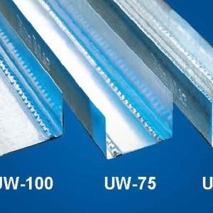 Vízszintes falvázprofil - 0,6mm UW75 - 4fm/db