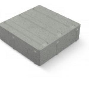 Vezetőkő 40x40 6 cm fehér