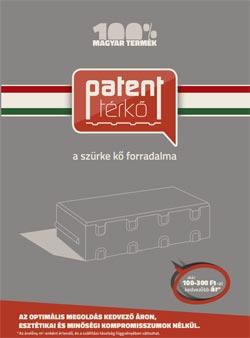 Barabás Patent térkő katalógus
